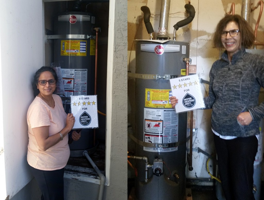 Happy Water Heater Customer Fremont