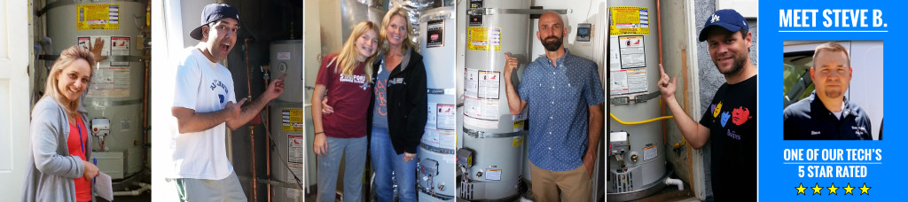 Water Heaters Only, Inc.'s Happy 5 Star Rated Customers. Fremont Water Heater Repair & Replacement