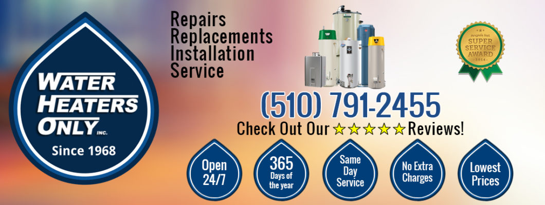 Fremont Water Heater Repair And Replacement